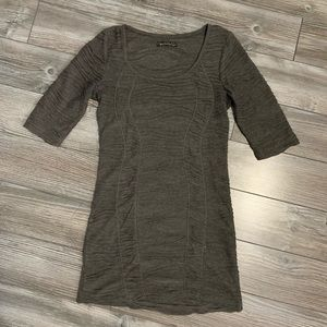 Gray tunic from Qed London. Size small.